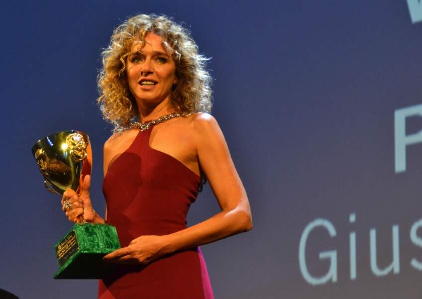 Si Valeria Golino avait fait le déplacement, Fabrice Luchini, Coupe Volpi du meilleur acteur, était absent