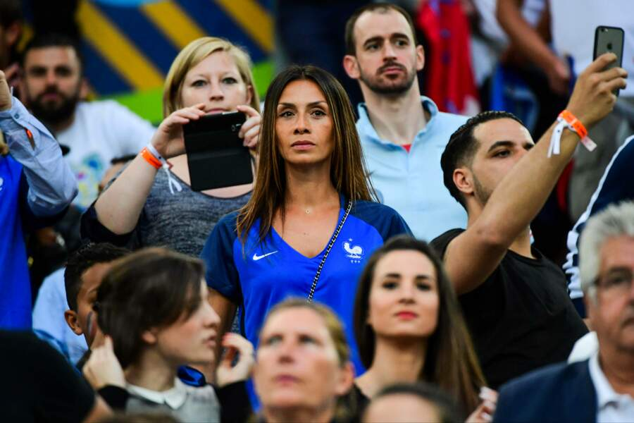 Sarah ne raterait pour rien au monde un match de son cher Steve Mandanda