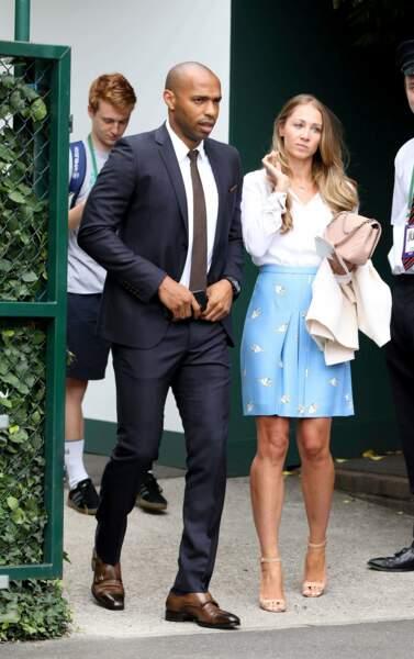 Quand Thierry Henry arrive à Wimbledon, c'est d'un pas assuré