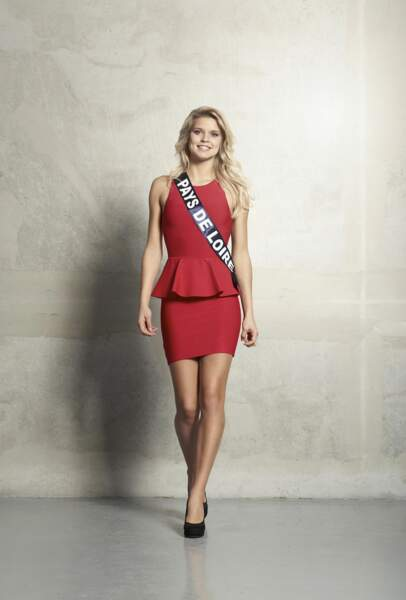 Angelina Laurent, Miss Pays de Loire