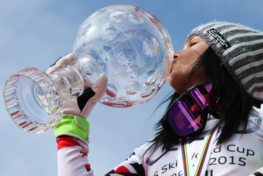 22 mars, Deuxième Gros Globe de Cristal, deux titres mondiaux, Anna, impératrice des neiges, Fenninger