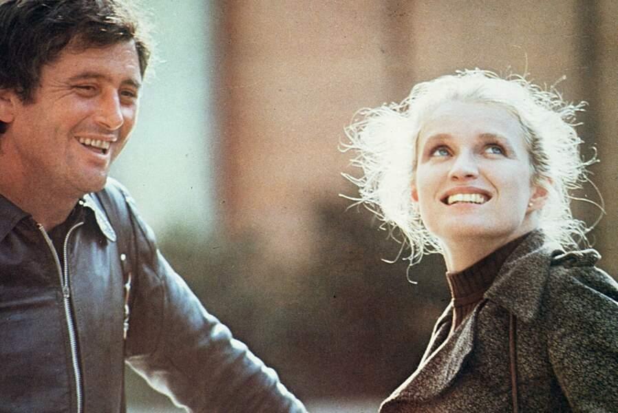 Marie-Christine Barrault, ici aux côtés de Victor Lanoux dans Cousin, Cousine, a été nommée en 1977