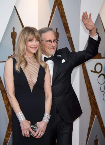 Kate Capshaw et son mari, un certain Steven Spielberg