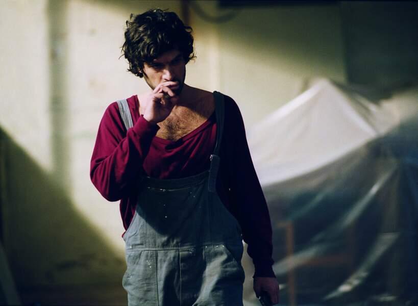 Persécution (2009) : pull informe et salopette crade dans le film de Patrice Chéreau où il joue un homme torturé