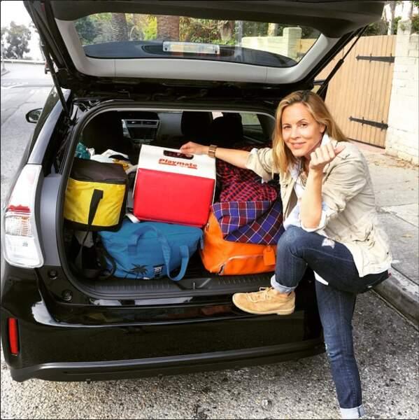 L'actrice de Coyote Girls voyage léger pour un week-end à San Diego...