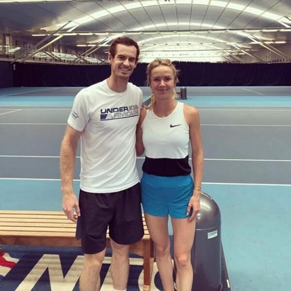 Mais sa passion reste le tennis, tout comme son homologue masculin Andy Murray