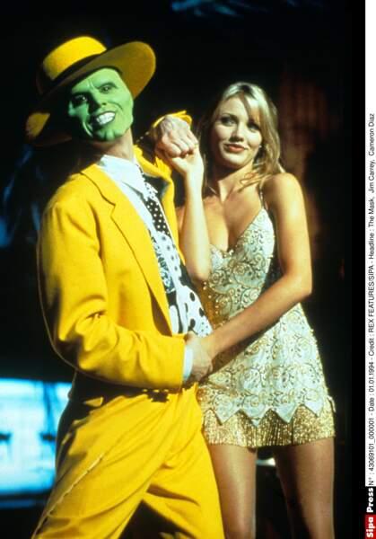 Elle perce aux côtés de Jim Carrey dans The Mask (1994)