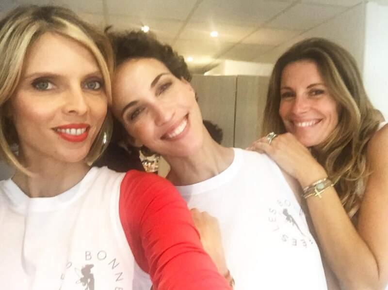 Sylvie Tellier, Linda Hardy et Sophie Thalmann font évidemment partie de l'association