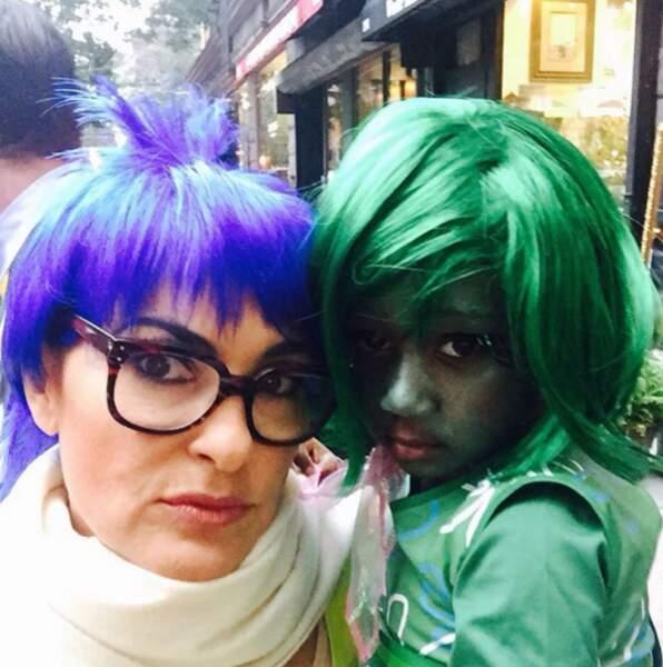 Et Pixar pour Mariska Hargitay et sa fille Amaya, inspirées du film Vice-Versa.