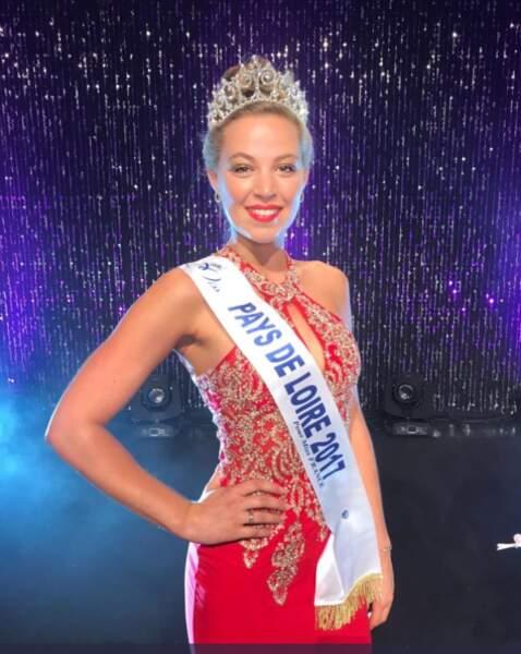 Chloé Guemard (20 ans) a été élue Miss Pays de Loire