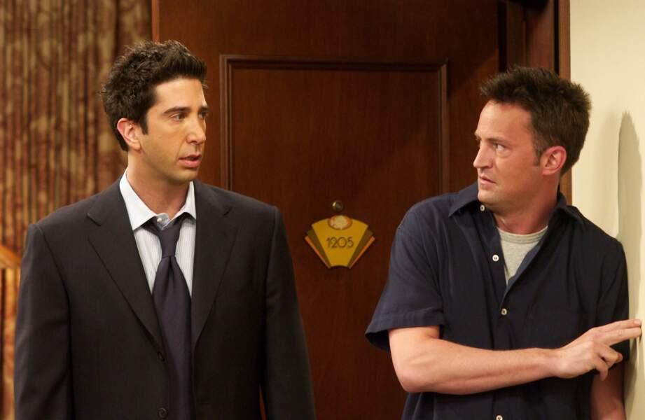 Grâce au talent de David Schwimmer, Ross était l'un des personnages les plus drôles de la série