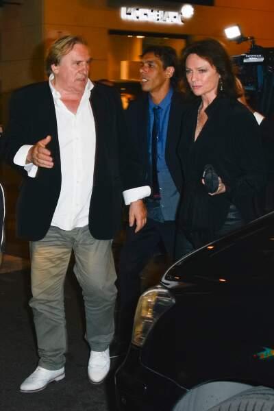Gérard Depardieu est arrivé en bonne compagnie