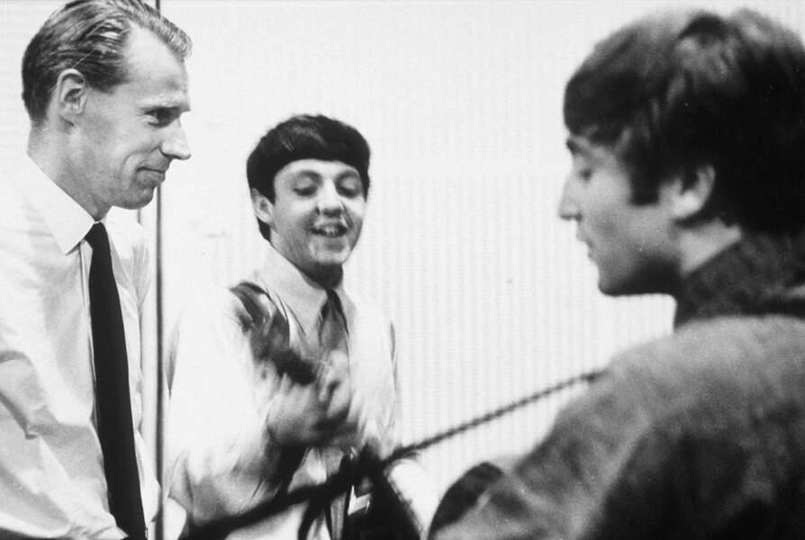 Le producteur des Beatles George Martin s'est éteint le 8 mars 2016 à 90 ans