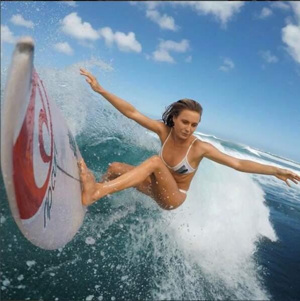 Pas assez actif pour la surfeuse américaine Alana Blanchard, qui préfère dompter les vagues