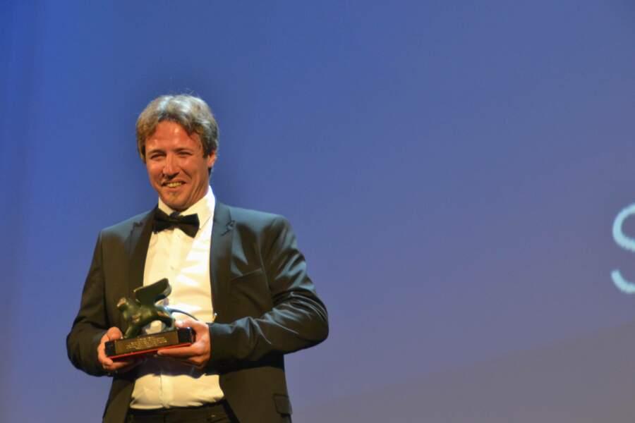 Dominique Leborne, prix du meilleur acteur de la section Orizzonti pour Tempête