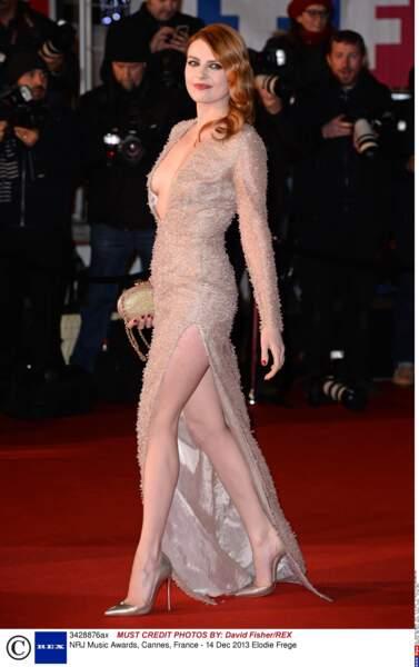 """Elodie frégé, après la sortie de son album """"Amuse bouches"""" en 2014."""