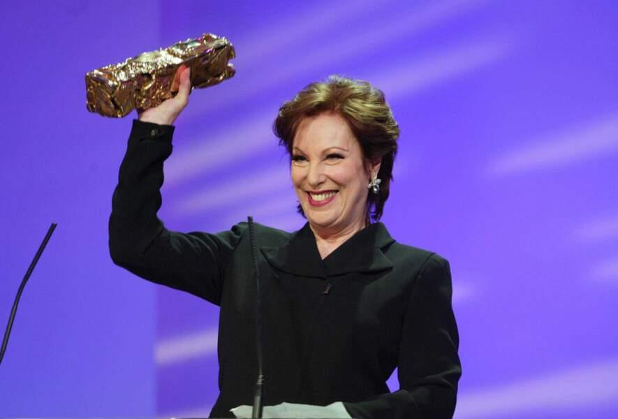 En 2003, Bernadette Lafont obtient un César d'honneur.