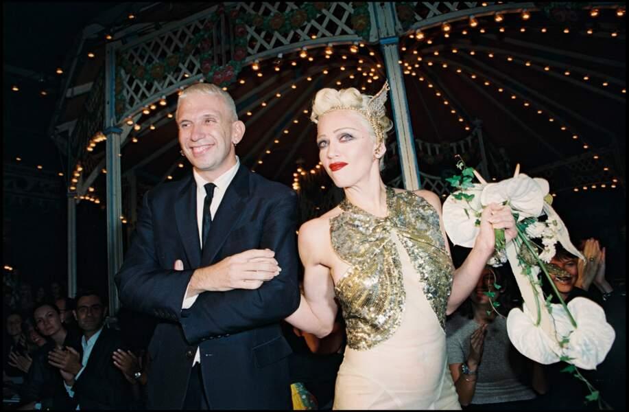 En 1994, avec Jean-Paul Gaultier