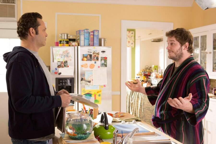 Car même dans la comédie Delivery Men, Chris camoufflait bien son sex-appeal derrière une bouée et un peignoir