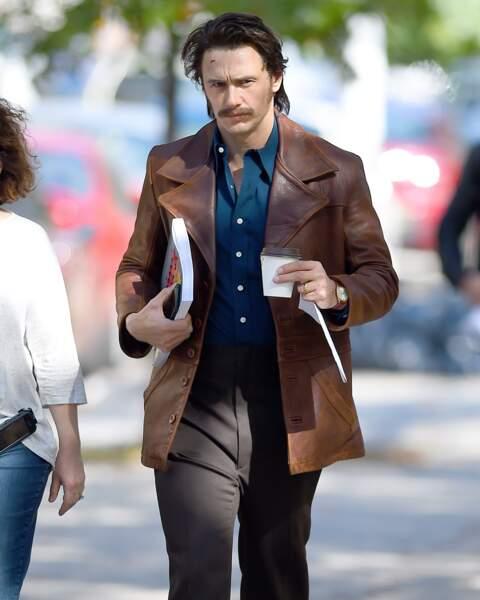 Le désormais moustachu James Franco