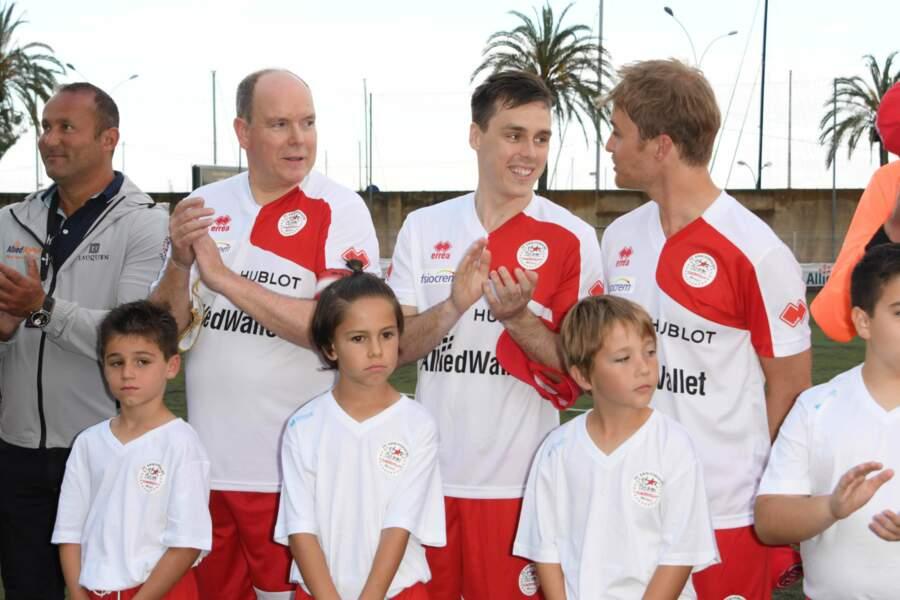 À Menton, mardi 22 mai, se tenait le match de football caritatif World Stars au profit des enfants défavorisés