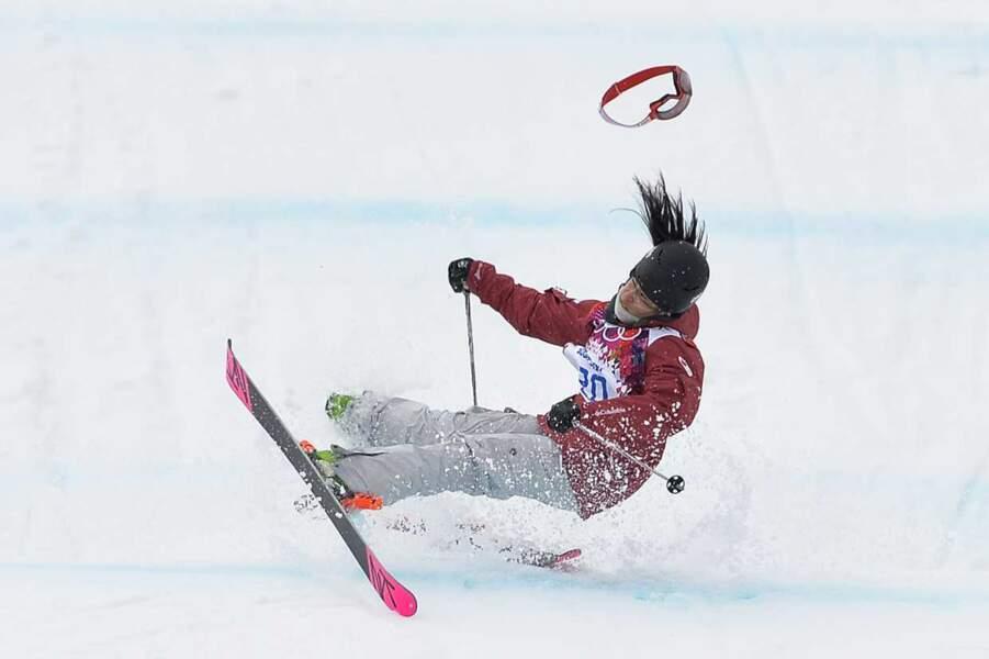 On termine enfin avec la chute de Yuki Tsubota en slopestyle