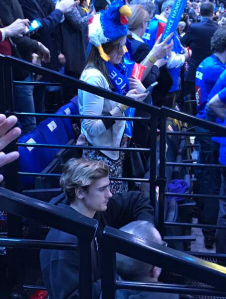 Spotted : Antoine Griezmann dans les tribunes de Bercy
