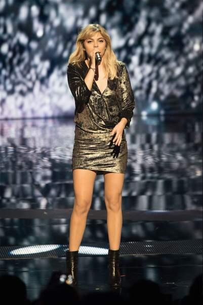 Aux derniers NRJ Music Awards, elle a proposé une version electro de ses tube