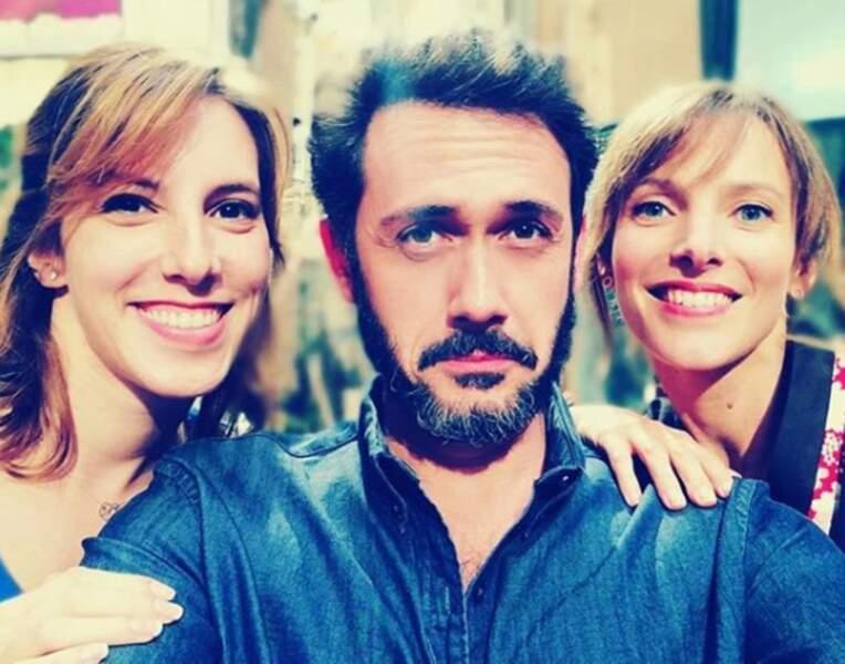 Emanuele Giorgi tiraillé entre les interprètes des deux âmes soeurs de Francesco dans Plus belle la vie