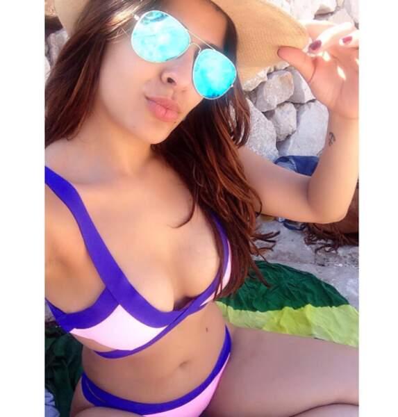 Gyselle Soares passe du bon temps !
