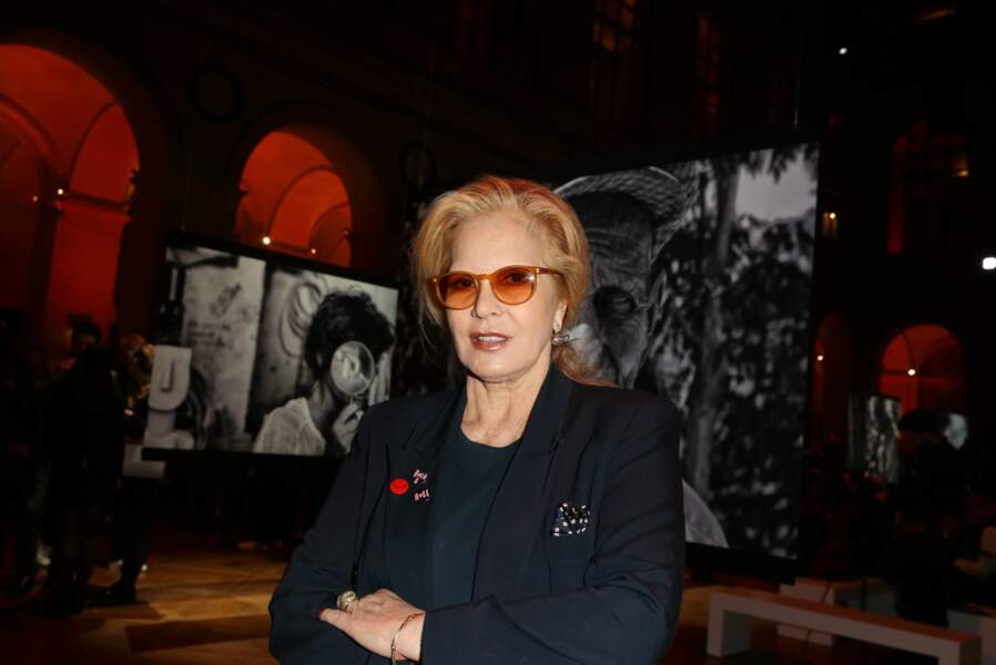La chanteuse Sylvie Vartan