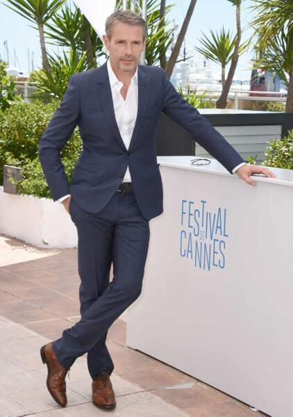 Lambert Wilson, le maître de cérémonie de ce 67ème Festival de Cannes, a posé pour quelques photos.