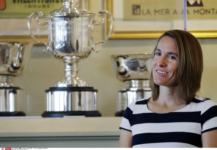 L'ex-tenniswoman belge Justine Hénin accouchera au printemps de son deuxième enfant...