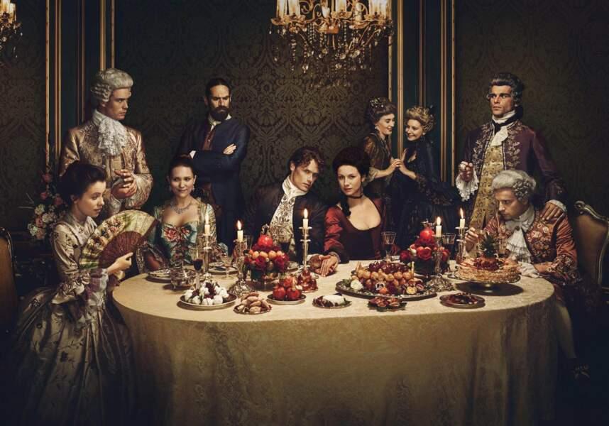 Série d'époque qui a beaucoup évolué, Outlander met en scène ses héros dans l'Histoire
