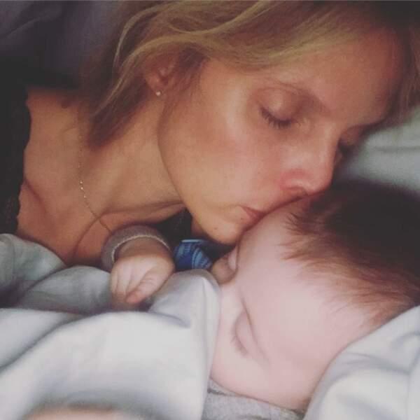 Le 14 juillet sera doublement fêté chez Sylvie Tellier depuis l'arrivée de Roméo, son troisième enfant