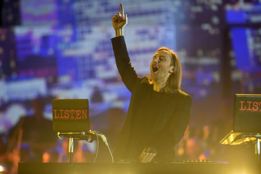David Guetta a offert un medley de ses derniers succès