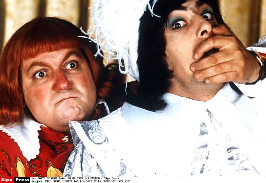 """""""Vous n'aurez pas l'Alsace et la Lorraine"""" : c'est lui qui réalise cette pochade, où il joue le roi Gros Pif"""