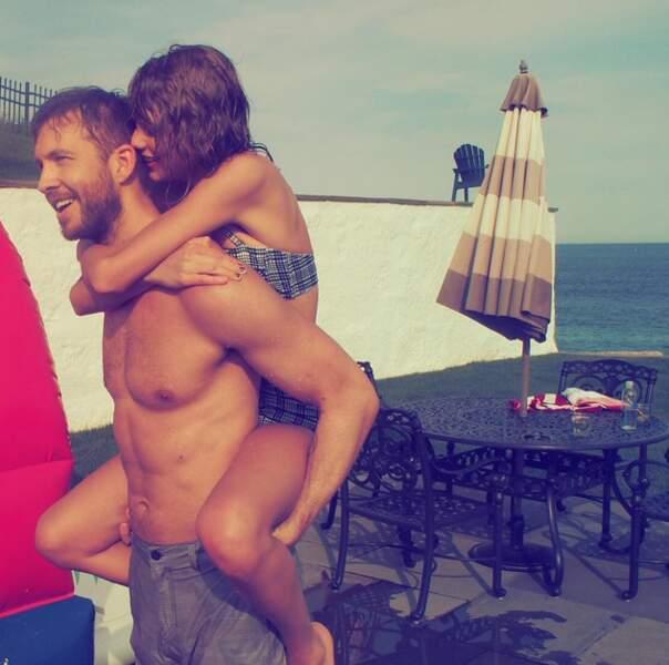 Taylor Swift et Calvin Harris affichent désormais officiellement leur amour.