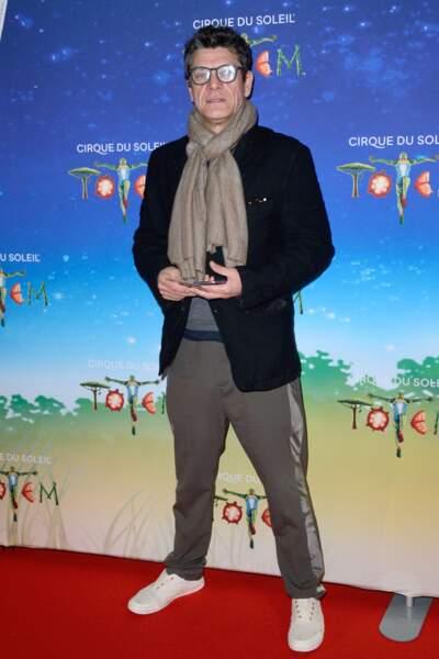 Le chanteur Marc Lavoine
