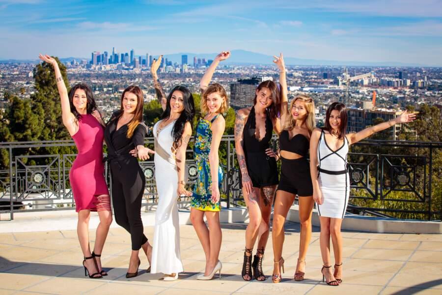 Et les filles : Sarah, Amélie, Shanna, Barbara, Claire, Maddy et Manon