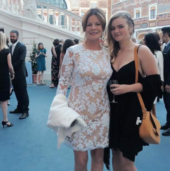 Au palais, Marcia Gay Harden était accompagnée de sa fille