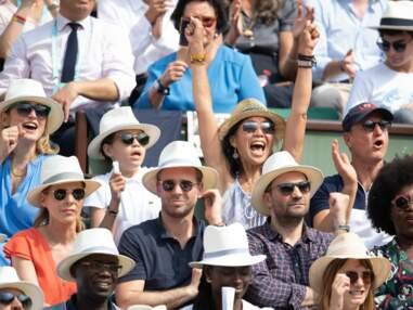 Hilary Swank, Julie Gayet sans François Hollande mais avec son fils, Doria Tillier… Du beau monde pour la finale dames de Roland-Garros