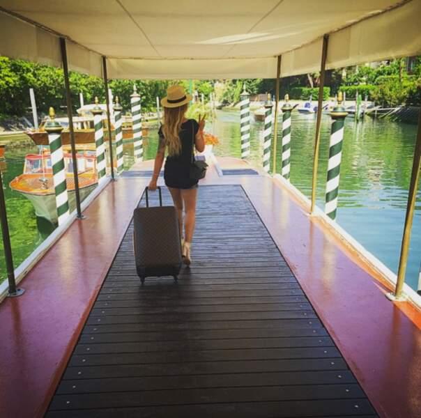 Sinon, Emilie a une autre passion dans la vie : voyager.