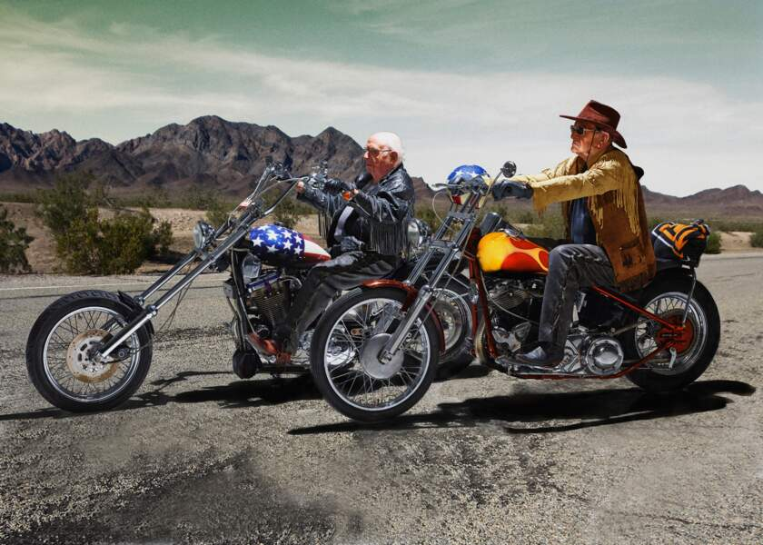On the road again (Easy Rider, 1969)