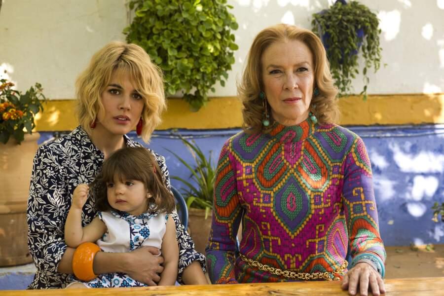 Julieta en 2016 avec Adriana Ugarte et Susi Sanchez