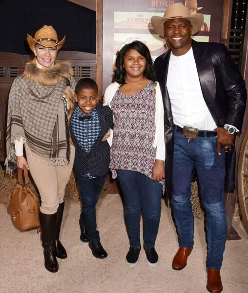 Terry Crews est venu en famille et un seul dresscode : le chapeau de cowboy !