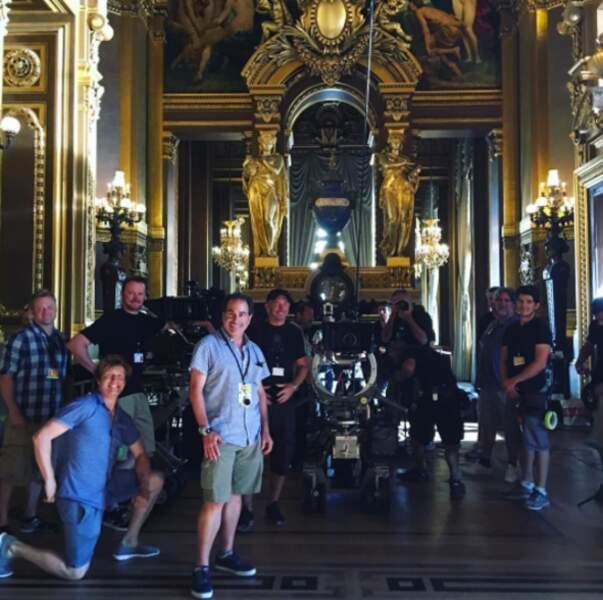 Après l'Opéra Garnier, direction la Côte d'Azur