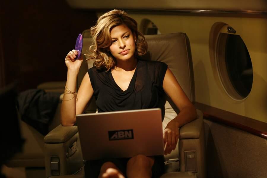 Productrice télé aux dents longues, Eva Mendes lance une émission de télé-réalité dans Live ! (2008)
