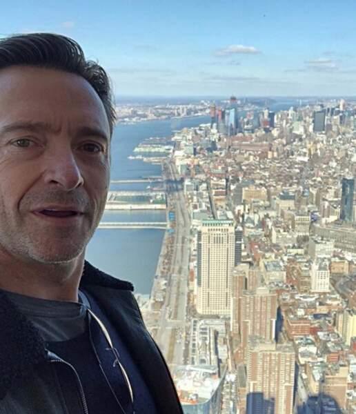 Hugh Jackman éblouit par la beauté de New-York
