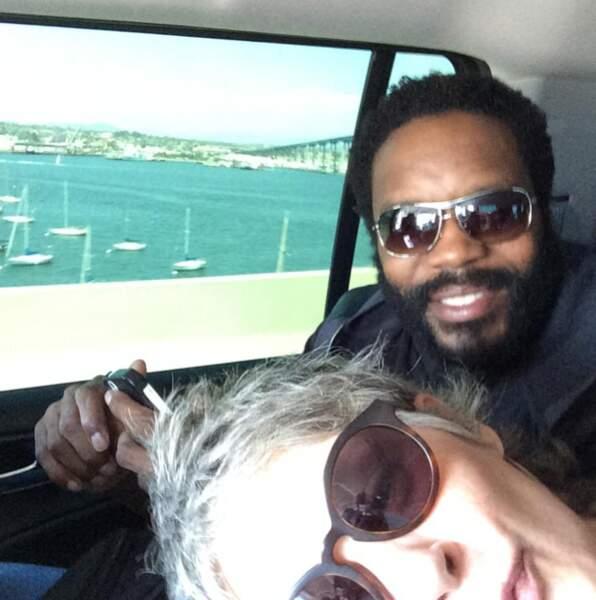 Pour Melissa McBride (Carol), Chad L. Coleman (Tyreese) est le compagnon de route idéal